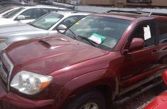 2008 Toyota 4 Runner Red for sale