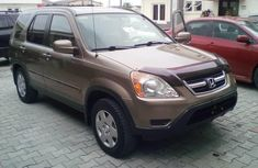 Honda CR-V 2003 Petrol Automatic Gold for sale