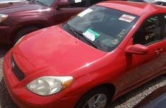 2005 Toyota Matrix Red for sale