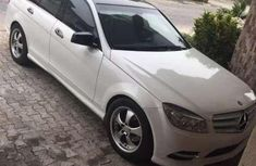 Neatly Used 2008 Upgraded to 2010 Mercedes-Benz C 300 White for sale