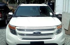 Ford Explorer 2013 Petrol Automatic White for sale