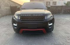 Clean like new 2012 Black Range Rover Evogue for sale