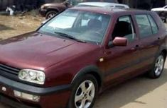 tokunbo volkswagen golf 3 red for sale