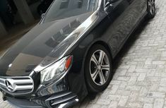 Beautiful black Mercedes Benz 2017 E300 for sale