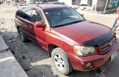 Toyota Highlander 2004 ₦1,300,000 for sale