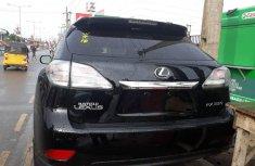 Lexus RX 2010 Black for sale