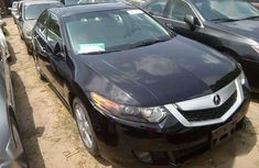 2009 Acura TSX Black for sale