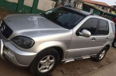 Mecedes Benz ML320 2003 Silver for sale