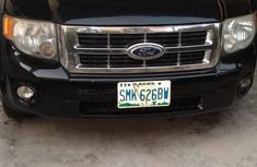 Ford Escape Limited 2010 Black for sale
