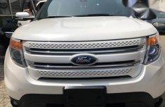 Ford Explorer 2014 White for sale