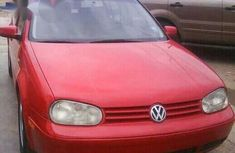 New Volkswagen Golf 1.8 1997 Red for sale