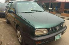 Neatly Used Green Volkswagen golf 3 for sale