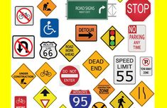 Check your road signs vocabulary! 16 Nigerian road signs that probably leave you clueless!