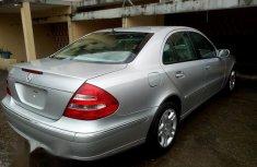 Mercedes-Benz E320 2005 Silver for sale