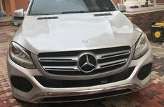 Mercedes-Benz GLE350 2016 Silver  for sale
