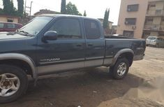 Toyota Tundra 2002 Automatic Green for sale