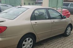 Toyota Corolla 2002 Gold for sale