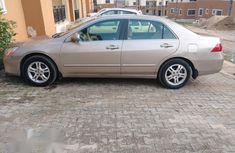 Honda Accord 2.0 Comfort Automatic 2007 Gold for sale