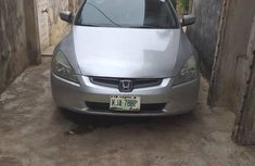 Honda Accord 2004 Silver for sale