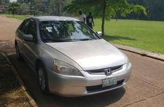 SILVER HONDA ACCORD 2005 for sale