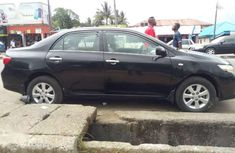 Toyota corolla black for sale