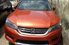 Honda Accord 2013 Orange for sale