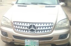 Mercedes-Benz ML350 2006 Gold for sale