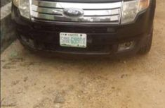 Black Ford edge 2008 suv for sale