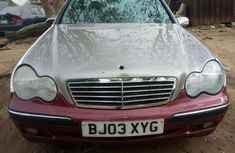 Mercedes Benz C200 2005 Silver for sale