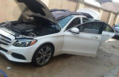 Mercedes-Benz C300 2016 White for sale