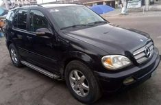 Mercedes Benz ML350 4matic 2004 black for sale