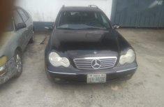 Mercedes-benz C240 2003 Black