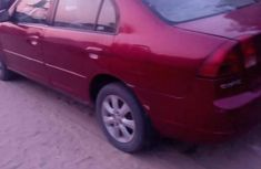 Honda Civic 2003 Red for sale