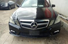 Mercedes-Benz E350 2011 Black for sale