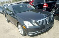 Sharp 2013 foreign Used Mercedes Benz E550 for sale