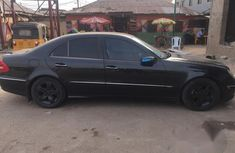 Mercedes-Benz E240 2008 Black for sale