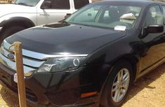 Black Ford fusion 2011 model for sale