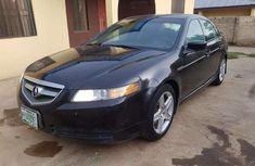 Clean Acura TL 2005 Black for sale