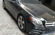 Mercedes-Benz E300 2017 Black for sale