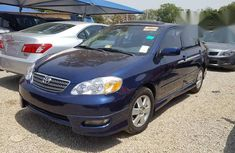 Toyota Corolla S 2005 Blue for sale