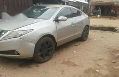 Acura ZDX 2015 Gray for sale