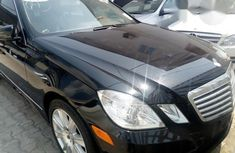 Mercedes-benz E350 2013 Black for sale