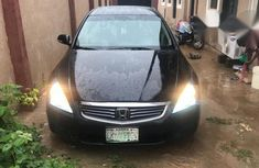 Honda Accord 2006 3.0 Hybrid Automatic Black for sale