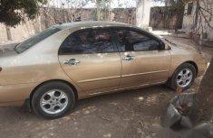 Toyota Corolla 2004 Sedan Gold for sale