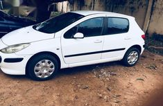 Peugeot 307 2001 White for sale