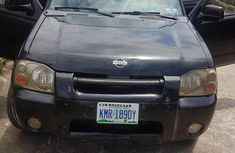 Nissan Frontier 2002 Black for sale