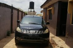 Nissan Murano 2005 SL AWD Black for sale