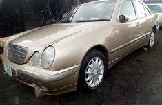 Mercedes-Benz E200 2003 Gold for sale