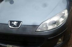 Automatic Peugeot 407 2004 Gray for sale