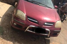 Nissan Almera 2002 Red for sale